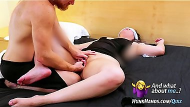 Touch-n-Tell: 22yo reveals her kinks.. SQUIRTS! Loud Asian fingered in real massage!  HunkHands.com/QUIZ  &laquo_&laquo_The REAL &quot_Law of Attraction&quot_.. NEW Vlog@31:51!&raquo_&raquo_ Hit &quot_20k&quot_ below for next week'_s show!
