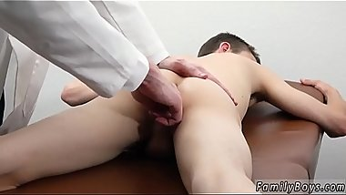 Boys in nylons free and gay cum deep inside Doctor'_s Office Visit