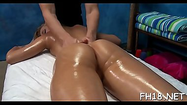 Hot 18 year old angel gets screwed hard by her massage therapist!