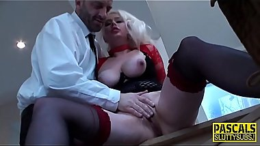 Bdsm hooker gets railed