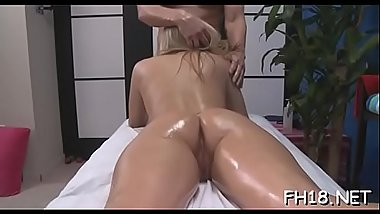 Sexy 18 year old sexy slut gets fucked hard by her massage therapist!