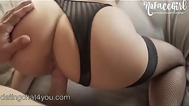 Quick Doggystyle Fuck in Fishnets l