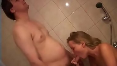 Teen playgirl sucks and then fucks her hung sexually excited lover